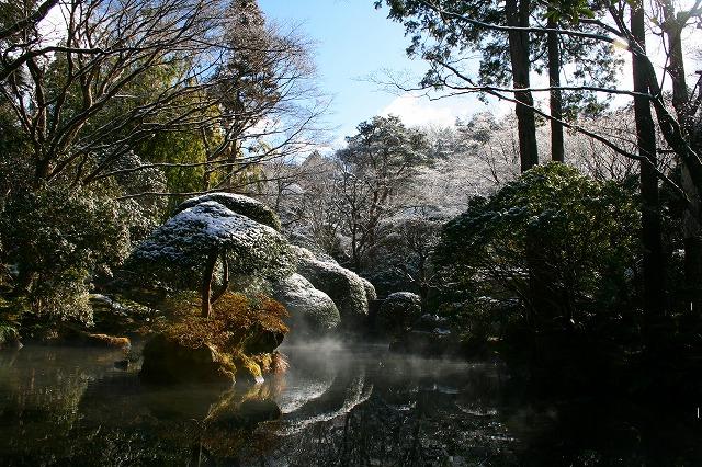仙郷楼の庭園_冬010
