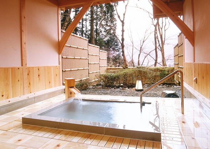 箱根の旅館仙郷楼のお風呂