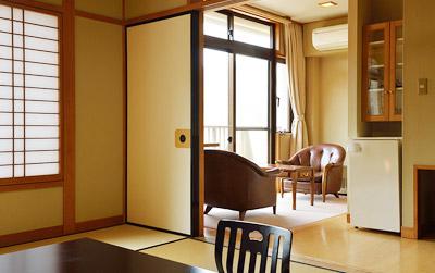 東館の客室